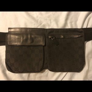 Vintage Gucci Fanny Pack Waist Pouch Belt Bag